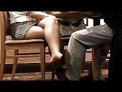 Biznesowe spotkanie nogi dokuczają
