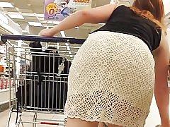Waooow fantastyczny tyłek cochet sukienka